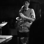 John Kocur - Bohemian Caverns 2014 (B&W)